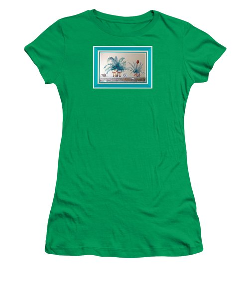 Trompe L'oeil Plants Women's T-Shirt