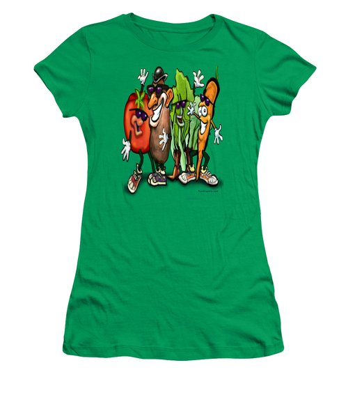 Veggies Women's T-Shirt (Athletic Fit)