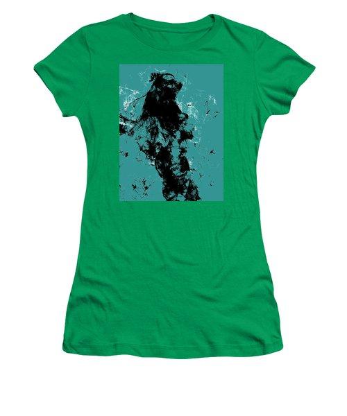 Venus Williams 4f Women's T-Shirt (Junior Cut) by Brian Reaves