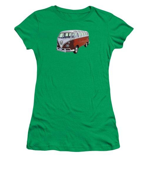 Volkswagen Bus 21 Window Bus  Women's T-Shirt