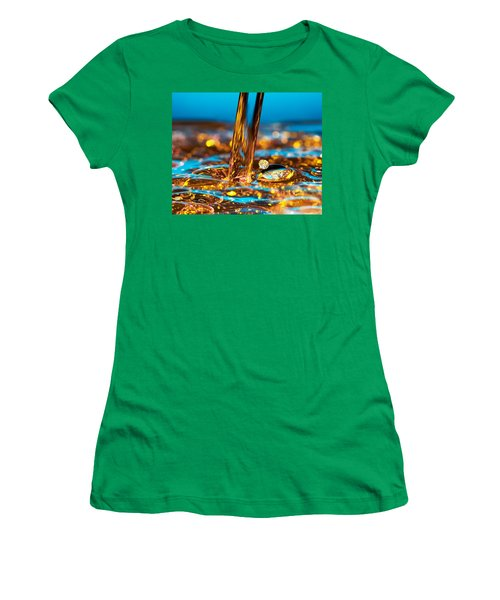 Water And Oil Women's T-Shirt