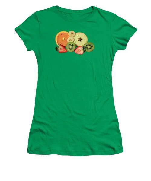 Wet Fruit Women's T-Shirt (Junior Cut) by Shane Bechler