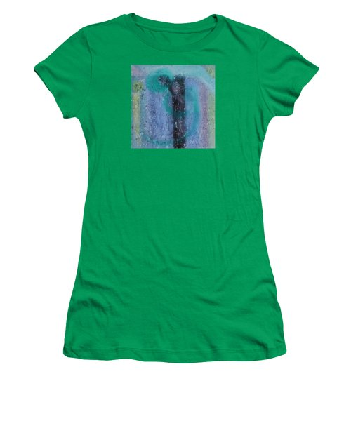 What Is From The Deep Heart? Women's T-Shirt (Junior Cut) by Min Zou