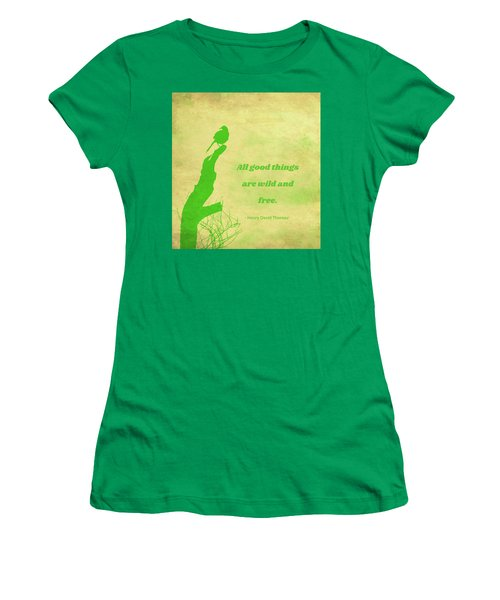 Women's T-Shirt featuring the photograph All Good Things by Judy Kennedy