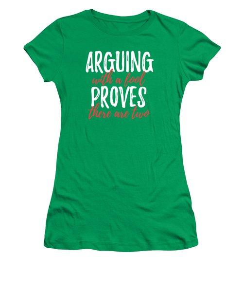Arguing Women's T-Shirt