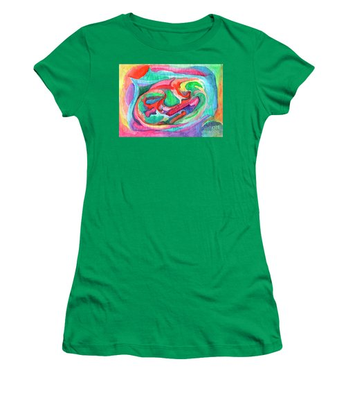 Colorful Abstraction Women's T-Shirt