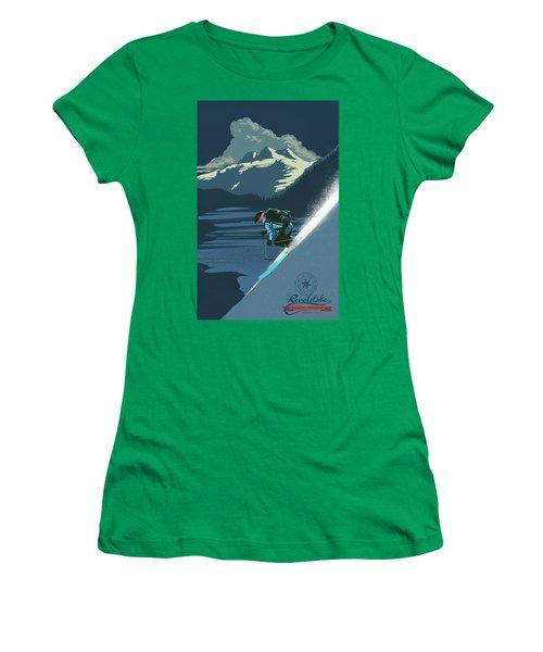Retro Revelstoke Ski Poster Women's T-Shirt