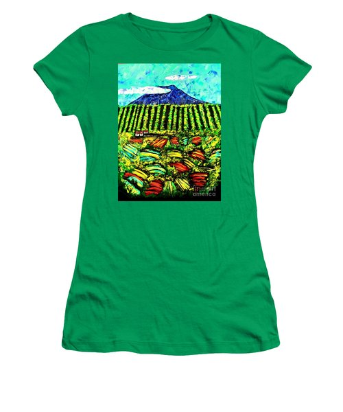 Sumatra Coffee Plantation Women's T-Shirt