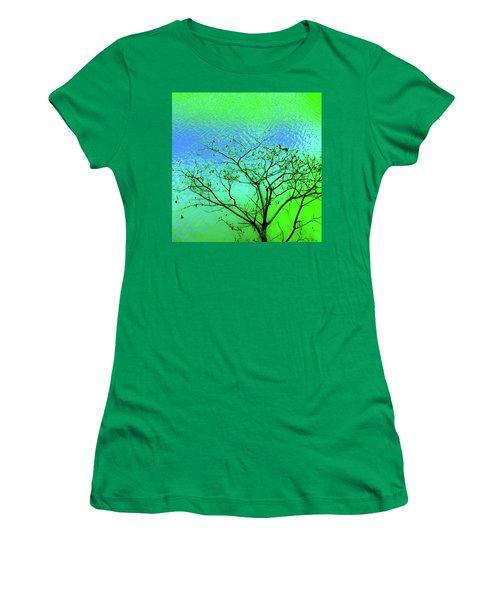 Tree And Water 3 Women's T-Shirt