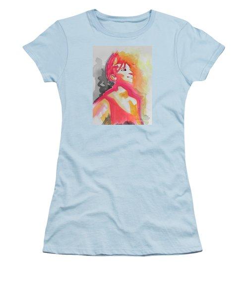 Barbra Streisand Women's T-Shirt (Junior Cut) by Chrisann Ellis