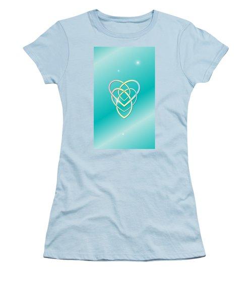 Celtic Motherhood Knot Women's T-Shirt (Athletic Fit)