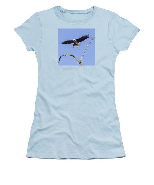 Landing Approach 1 Women's T-Shirt (Athletic Fit)