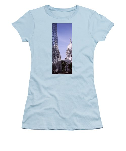 Low Angle View Of A Government Women's T-Shirt (Junior Cut) by Panoramic Images