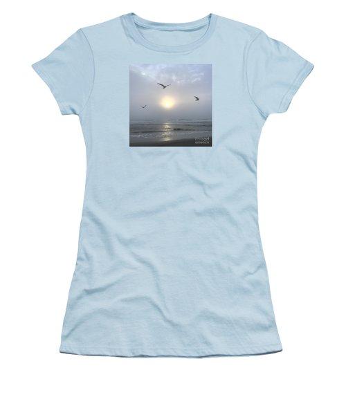 Moment Of Grace Women's T-Shirt (Junior Cut) by LeeAnn Kendall
