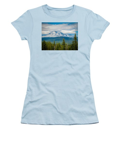 Mt. Adams From Indian Heaven Wilderness Women's T-Shirt (Athletic Fit)