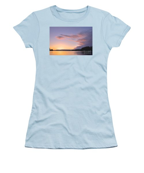 Women's T-Shirt (Junior Cut) featuring the photograph On Puget Sound - 2 by Sean Griffin