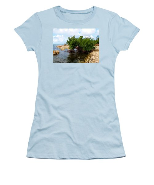 Women's T-Shirt (Junior Cut) featuring the photograph Reclamation 7 by Amar Sheow