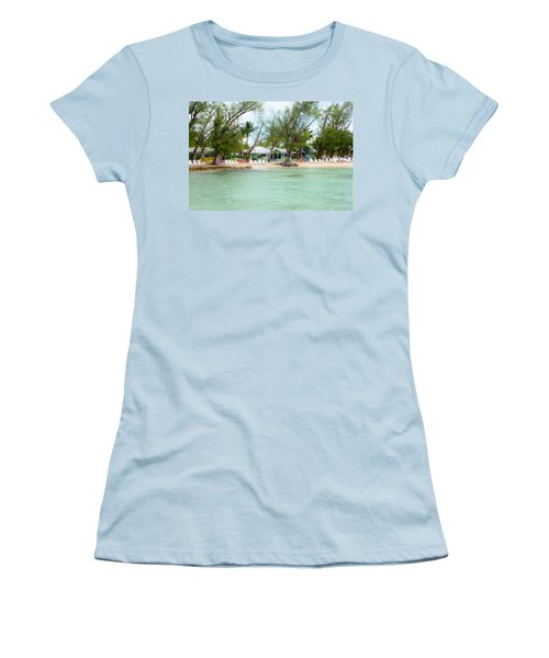Rum Point Women's T-Shirt (Athletic Fit)