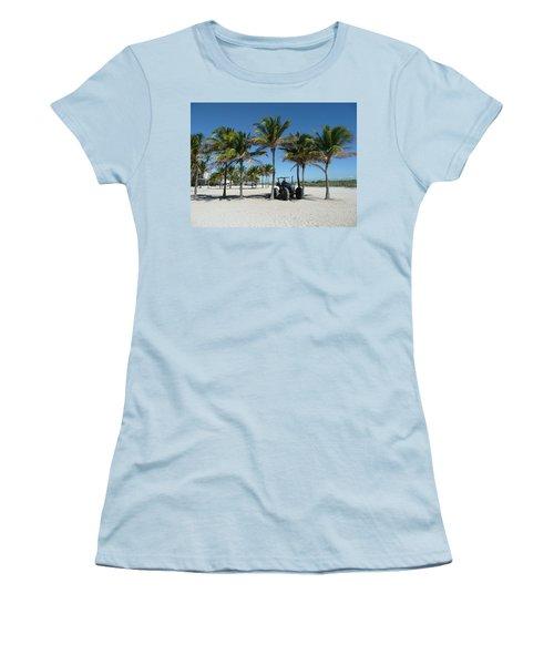 Sand Farm Women's T-Shirt (Athletic Fit)
