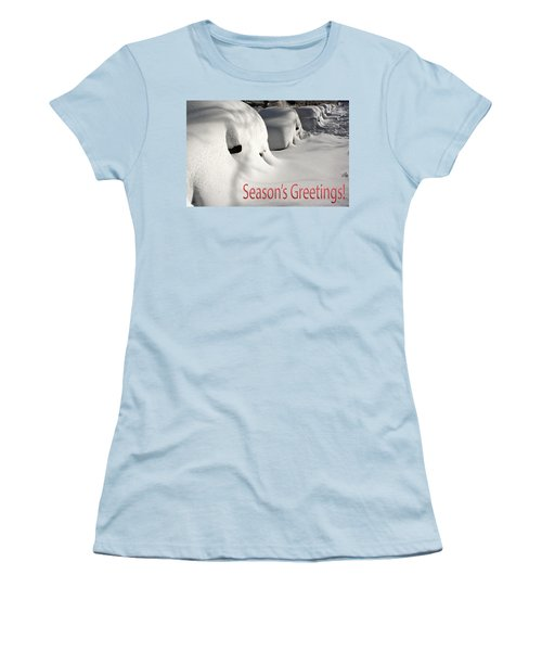 Season's Greetings Women's T-Shirt (Athletic Fit)