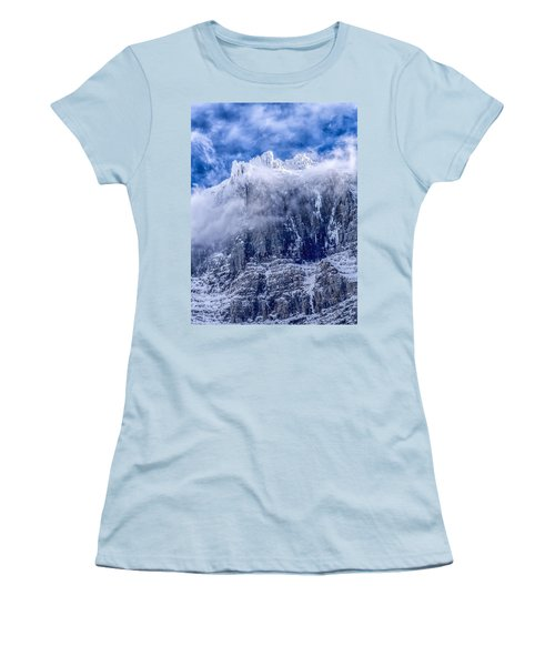 Women's T-Shirt (Junior Cut) featuring the photograph Stone Cold by Aaron Aldrich