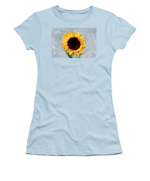 Women's T-Shirt (Junior Cut) featuring the photograph Sunflower by Bill Howard