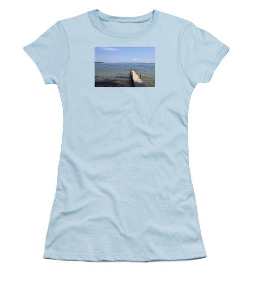 Lake Winnipesaukee Women's T-Shirt (Athletic Fit)