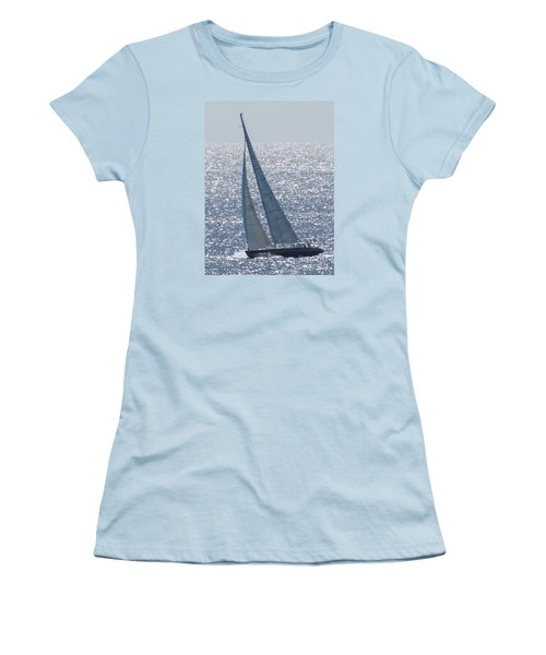 12 Meter True North Women's T-Shirt (Athletic Fit)