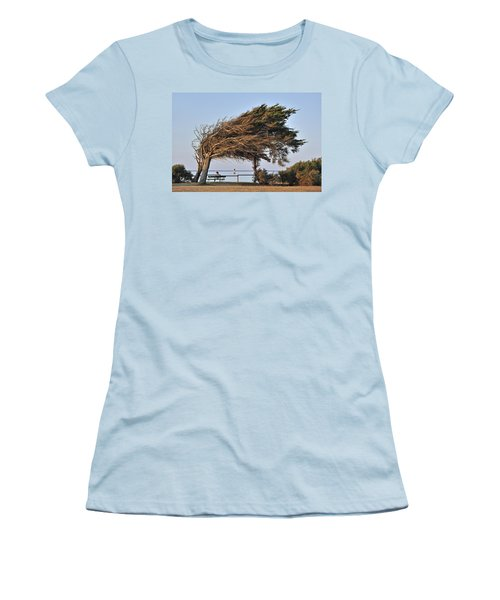 Women's T-Shirt (Junior Cut) featuring the photograph 120920p152 by Arterra Picture Library