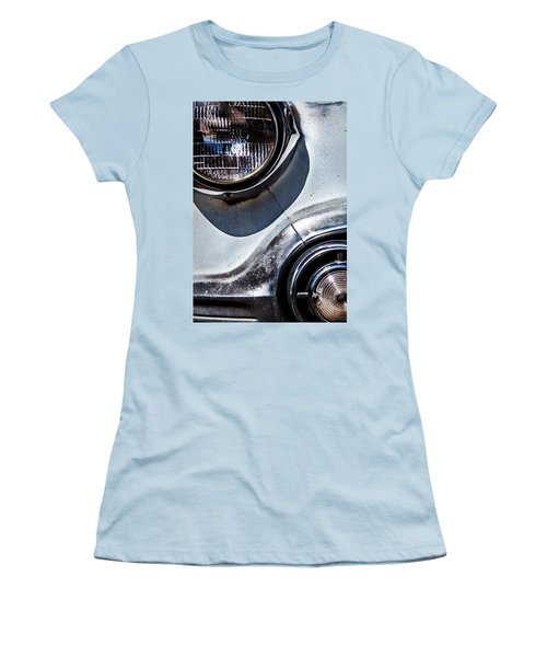 1953 Chevy Headlight Detail Women's T-Shirt (Athletic Fit)