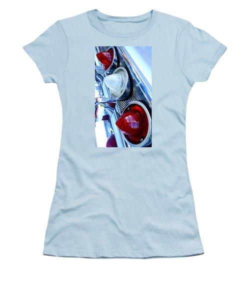 Women's T-Shirt (Junior Cut) featuring the photograph 1960 Chevrolet Impala by Joseph Skompski