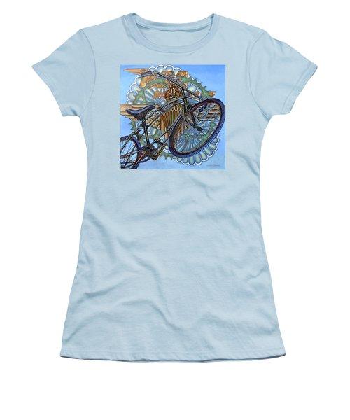 Bsa Parabike Women's T-Shirt (Junior Cut) by Mark Jones