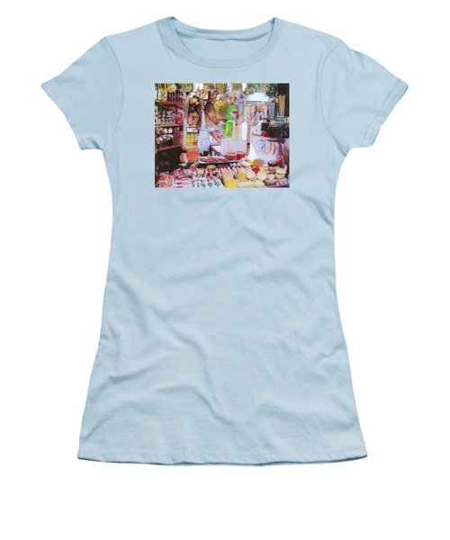 Deli On The Via Condotti Women's T-Shirt (Athletic Fit)