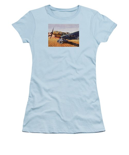 Desert Storm Women's T-Shirt (Athletic Fit)