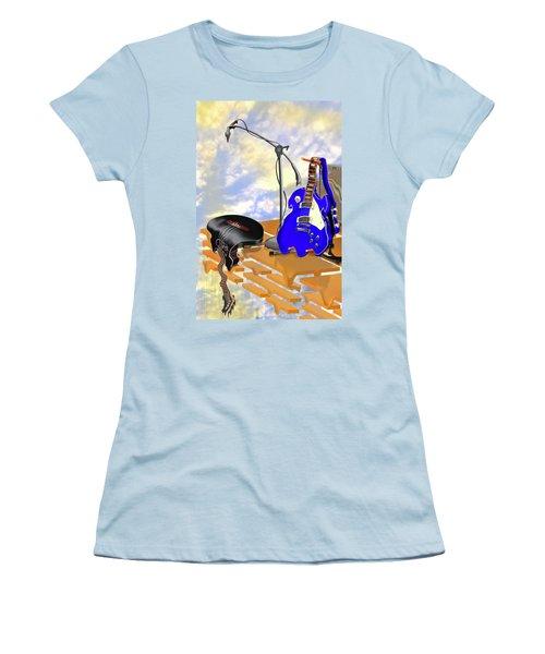Electrical Meltdown II Women's T-Shirt (Junior Cut) by Mike McGlothlen