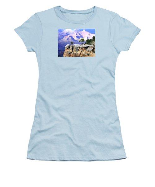 Grand Canyon 1 Women's T-Shirt (Junior Cut) by Will Borden
