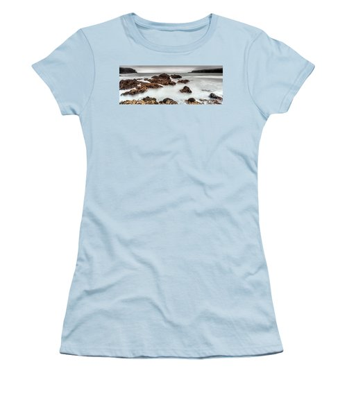 Grey Morning Women's T-Shirt (Junior Cut) by Steven Reed