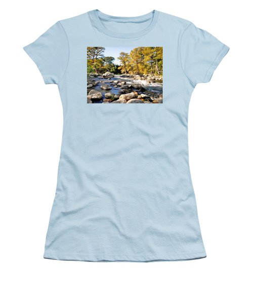 Guadalupe River  Women's T-Shirt (Athletic Fit)