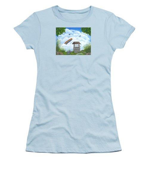 My Wishing Place Women's T-Shirt (Junior Cut) by Sheri Keith