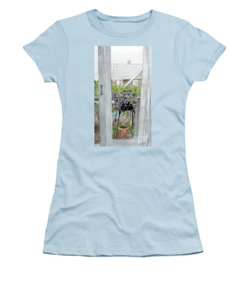 Nantucket Room View Women's T-Shirt (Junior Cut)