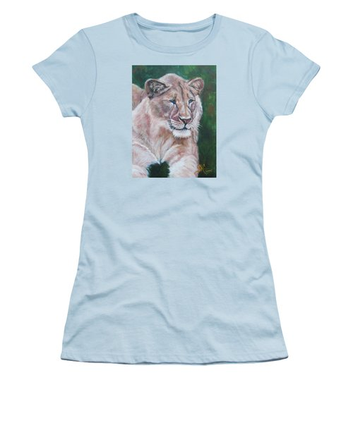 Queen Of The Beast,lioness Women's T-Shirt (Athletic Fit)