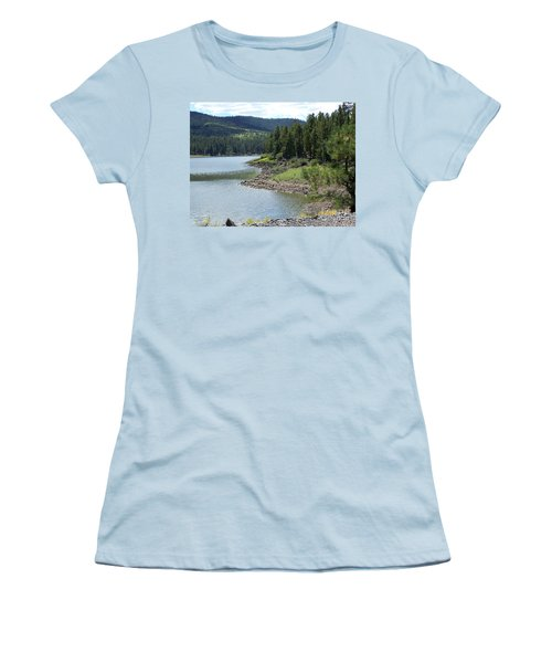 River Reservoir Women's T-Shirt (Junior Cut)