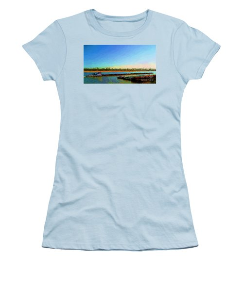 Women's T-Shirt (Junior Cut) featuring the photograph Slow And Steady by Kelly Awad