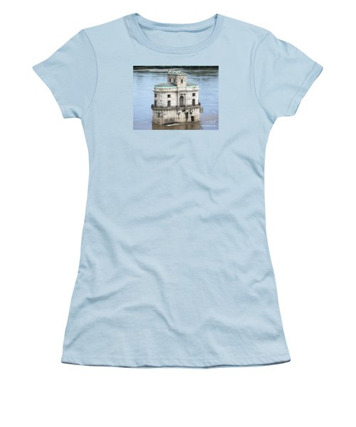 Women's T-Shirt (Junior Cut) featuring the photograph The Old Water House by Kelly Awad