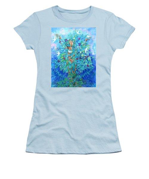 Tree Of Life  Women's T-Shirt (Junior Cut) by Trudi Doyle