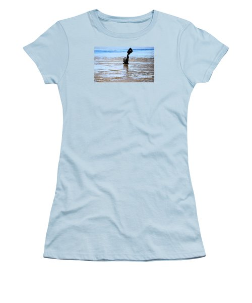 Women's T-Shirt (Junior Cut) featuring the photograph Waters Up by Kelly Awad