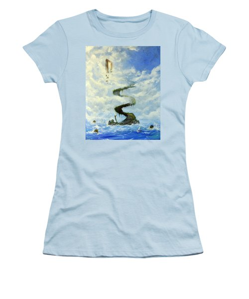 No Title  Women's T-Shirt (Athletic Fit)