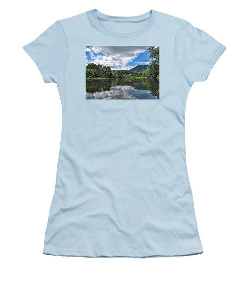 South Fork Shenandoah River Women's T-Shirt (Junior Cut) by Lara Ellis