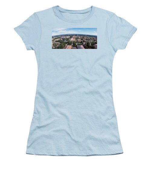 Aerial View Of Stanford University Women's T-Shirt (Athletic Fit)