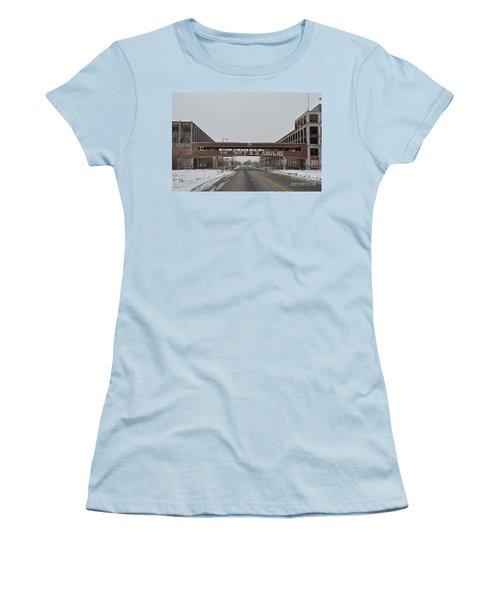 Detroit Packard Plant Women's T-Shirt (Athletic Fit)
